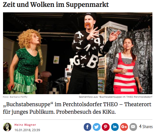 Screenshot KURIER Website